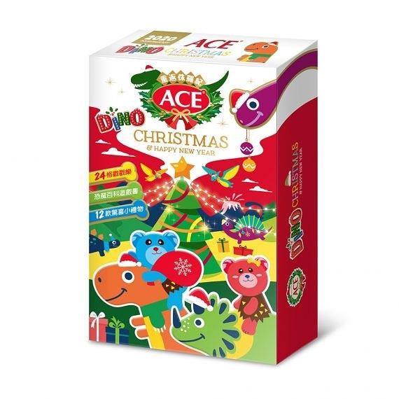 ACE 2020聖誕巡禮月曆禮盒-侏儸紀聖誕 (聖誕節限定禮盒 /軟糖禮盒 /交換禮物)
