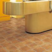 地板卷材  耐磨捲材 赤土磚紋 客廳 廚房 門市 展示廳用 SS-3318