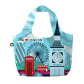 【BG Berlin】摺疊環保袋-倫敦 indulgence 寵愛自己