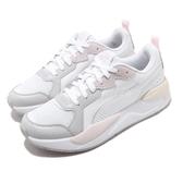 Puma 休閒鞋 X-Ray 白 灰 女鞋 復古慢跑鞋 老爹鞋 運動鞋 【ACS】 37284904