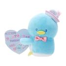 小禮堂 山姆企鵝 迷你絨毛玩偶 玩偶萬用夾 夾式玩偶 娃娃夾子 (藍 2021角色大賞) 4550337-60982