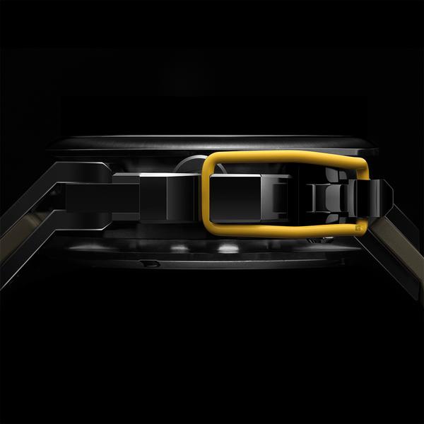 Mazzucato RIM 鷗翼式翻轉超跑雙機械石英手錶-48mm RIM04-GN136