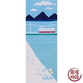 【日本製】【和布華】 日本製 注染拭手巾 田園鄉下風景圖案 SD-5035 - 和布華