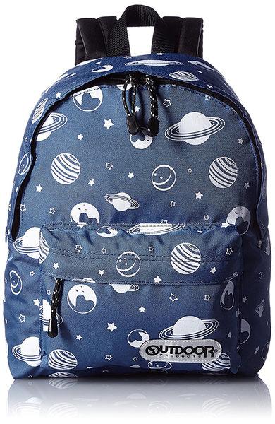 【日本代購】Outdoor Products 超輕量繽紛多彩後背包(小)-鐵藍色
