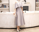 (45 Design) 連衣裙禮服長洋裝短袖洋裝連身裙婚禮洋裝蕾絲洋裝雪紡洋裝套裝長袖洋裝12