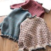 女童毛衣新款秋冬韓版兒童加絨加厚針織百搭保暖打底套頭衫 Korea時尚記