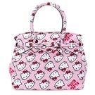 SAVE MY BAG Miss系列限量Hello Kitty輕量防水托特包(粉紅色)280005