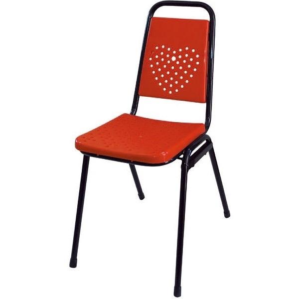 餐椅 AT-858-16 紅色出租椅【大眾家居舘】