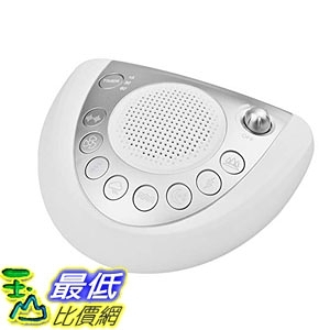 [7美國直購] 美國 HOMEDICS 除噪助眠機 White Noise Machine Sleep Relax Sound Machine 8 Soothing