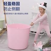 大兒童洗澡桶浴桶可坐小孩游泳桶嬰兒寶寶泡澡桶浴缸家用洗澡盆 阿卡娜