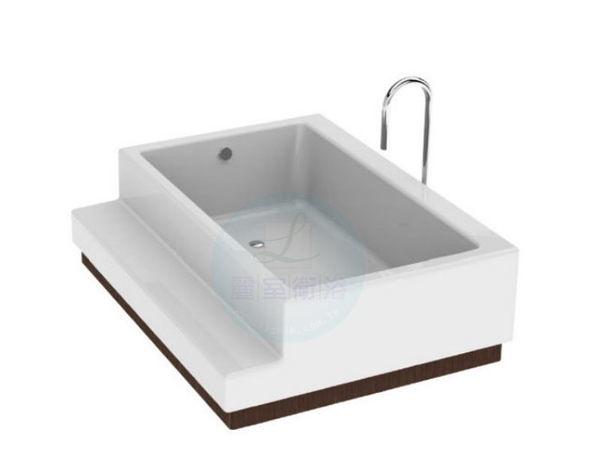 【麗室衛浴】Eric Bathtub Design 2013 豪華景觀飯店VIP套房專用獨立造型浴缸  概念2