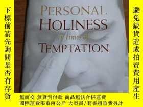 二手書博民逛書店PERSONAL罕見IN TIMES OF HOLINESS TEMPTATIONY12800 BIBLICA