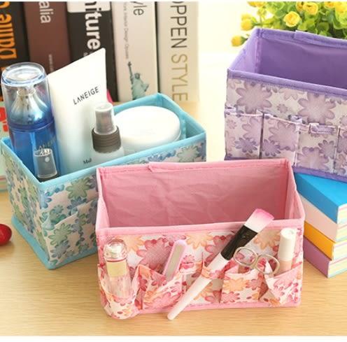 預購-花朵款牛津布小物收納盒