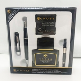 高仕CROSS-鋼筆-貝禮系列-黑亮漆鋼筆墨水禮盒組