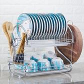 廚房置物架 盤子置放碗碟收納架 刀架 碗柜 瀝水碗架‧衣雅