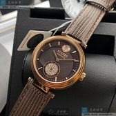 VERSUS VERSACE凡賽斯女錶40mm古銅色錶面咖啡色錶帶