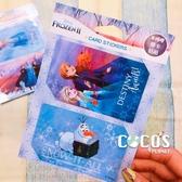 迪士尼悠遊卡貼票卡貼紙 冰雪奇緣2 ELSA 艾莎安娜雪寶 悠遊卡貼票卡貼紙 B款 COCOS DS025