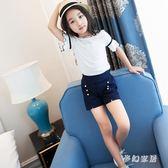 女童短袖T恤夏裝2019新款打底韓版童裝洋氣休閒半袖T恤 QW3100『夢幻家居』