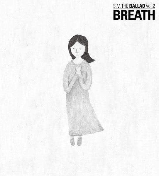 S.M. THE BALLAD Vol.2  BREATH 呼吸 中文版台壓版 CD (音樂影片購)