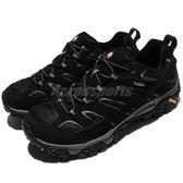 Merrell 戶外鞋 Moab 2 GTX 黑 灰 Gore-Tex 防水 透氣 越野 休閒鞋 運動鞋 女鞋【PUMP306】 ML06040