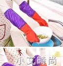 廚房家務清潔加絨洗碗手套薄款橡膠加長加厚保暖洗衣防水塑膠乳膠 小艾新品