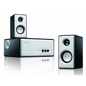 KINYO 耐嘉 KY-670 白色寧靜 2.1聲道全木質防磁擴大喇叭 三件式喇叭