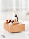 圣誕節八音盒木質