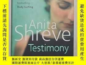 二手書博民逛書店英文原版罕見Testimony by Anita Shreve