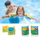 兒童臂圈-2個一組  泳池浴缸玩水學游泳 橘魔法Baby magic  現貨