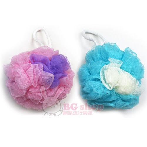 舒媚 柔彩浴球/沐浴球 1入 (粉紫/藍米)【BG Shop】2色供選