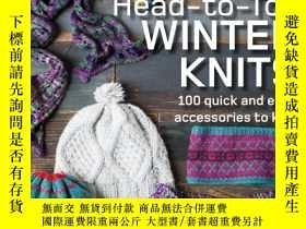 二手書博民逛書店Head-to-Toe罕見Winter Knits: 100 q