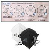 淨舒式 PM2.5 排氣閥防霾口罩(未滅菌) 2入裝 白/黑 共2款 (防霾/灰塵/霾害/pm2.5/空汙)【DDBS】