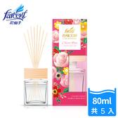 【花仙子】去味大師竹木香80ml-5入-古典玫瑰