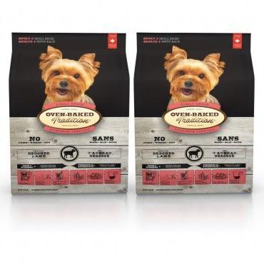 【Oven-Baked】烘焙客 成犬羊肉糙米口味 小顆粒 5磅 X 2包