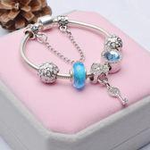 琉璃水晶珠成品藏銀DIY手鍊 轉運情人節新年禮物