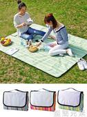 野餐墊戶外便攜野餐墊防潮墊 可摺疊野餐布春游墊子牛津布防水野炊地墊 至簡元素