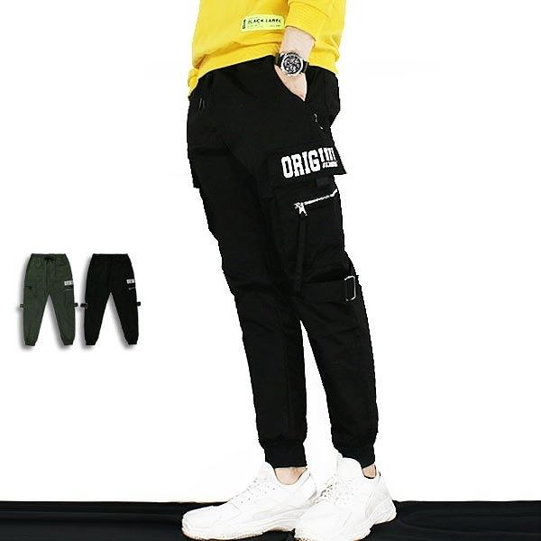 長褲-電繡扣環工裝褲-街潮工裝款《99998005》共2色【現貨】『RFD』