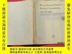 二手書博民逛書店River罕見Channel Patterns: Braided, Meandering and Straight