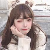 假發女長發lolita自然逼真少女jk修臉可愛lo假毛【聚可愛】