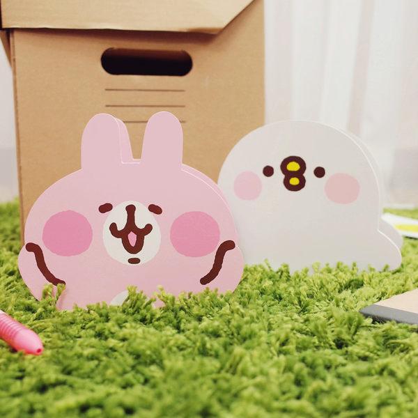 PGS7 卡娜赫拉系列商品 - 卡娜赫拉 Kanahei 頭型 木質 筆筒 兔兔 P助 【SHM7895】