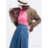 CANTWO豹紋兩穿布勞森外套(共二色)~春夏新品登場