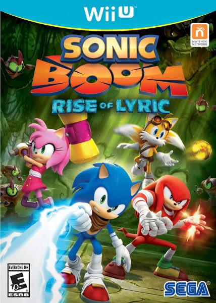 WiiU Sonic Boom: Rise of Lyric 音速小子:音爆(美版代購)