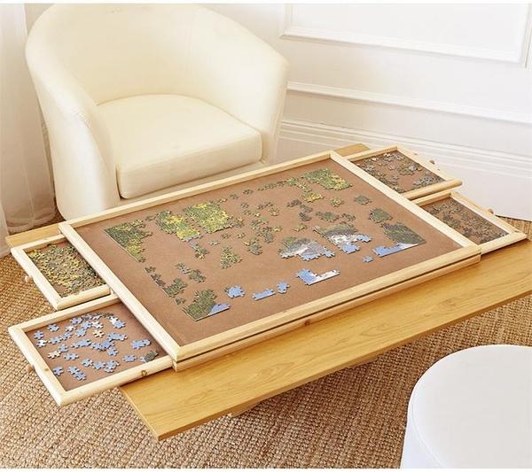拼圖收納拼圖毯拼圖桌