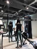 瑜伽服  運動上衣女寬鬆速幹短袖T恤跑步健身罩衫訓練瑜伽服 免運費