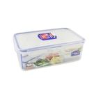 樂扣樂扣活動三分格保鮮盒微波便當盒1L密封調味盒HPL817C-大廚師百貨