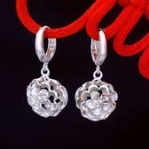 耳環 925純銀(耳針式)-流行大方生日聖誕節禮物女飾品73ds68[時尚巴黎]