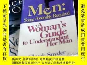 二手書博民逛書店Men:Some罕見Assembly RequiredY2420
