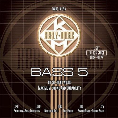 ☆ 唐尼樂器︵☆ Kerly冰火弦 KQXB-40125 (40-125) 美製 Bass 電貝斯弦(5弦/五弦用)