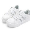 PLAYBOY 復刻魅力 彈性厚底小白鞋...
