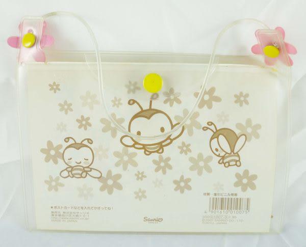 【震撼精品百貨】Sweetcoron Sanrio 小蜜蜂~透明收納袋